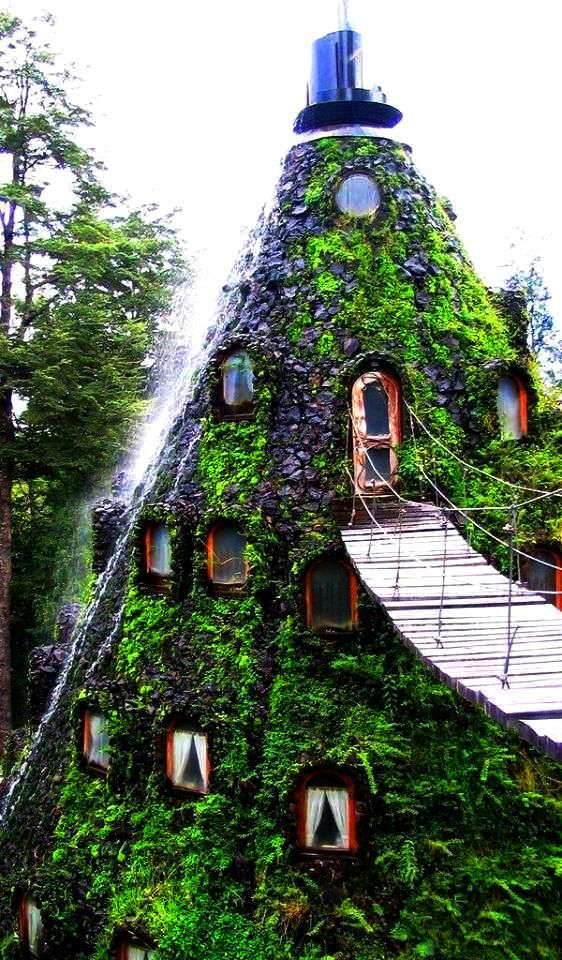 Magic Mountain Hotel in Chile