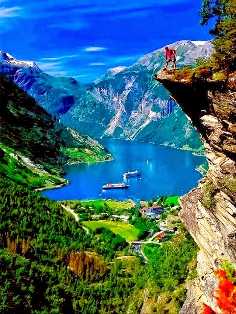 Geiranger Fjord in Norway - The world's most beautiful fjords!