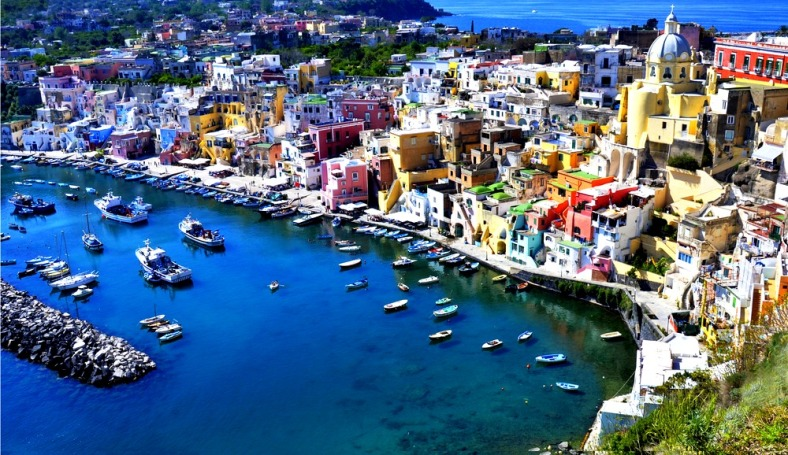 Procida Island - The Bay of Naples' smallest island is also its secret.