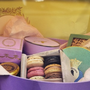 LADUREE - one of the most popular and beautiful restaurants & bakers in the world. Try macarons and their cakes!